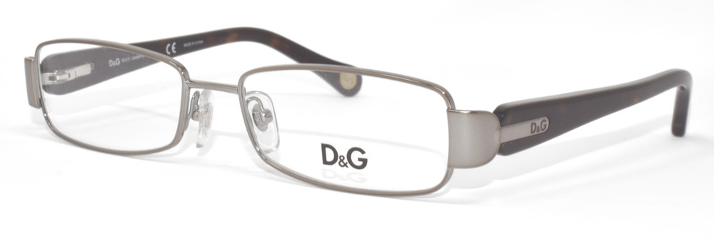 f6b5052660ea NEW EYEGLASSES DOLCE & GABBANA D&G5093 090 GUNMETAL/BROWN 51-16-130 WOMEN |  eBay