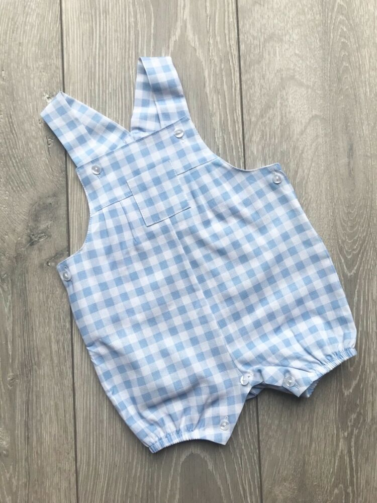178dfe244 Pex baby summer spanish style dungarees blue and white summer | eBay