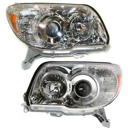 Kyпить For 2006-2009 Toyota 4Runner 4 Runner Projector Headlights lamp Left+Right 06-09 на еВаy.соm