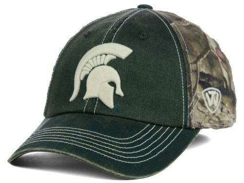 best sneakers 99db2 04253 Details about MICHIGAN STATE SPARTANS Top of the World NCAA Two Tone Camo  Flex Fit Hat Cap  28