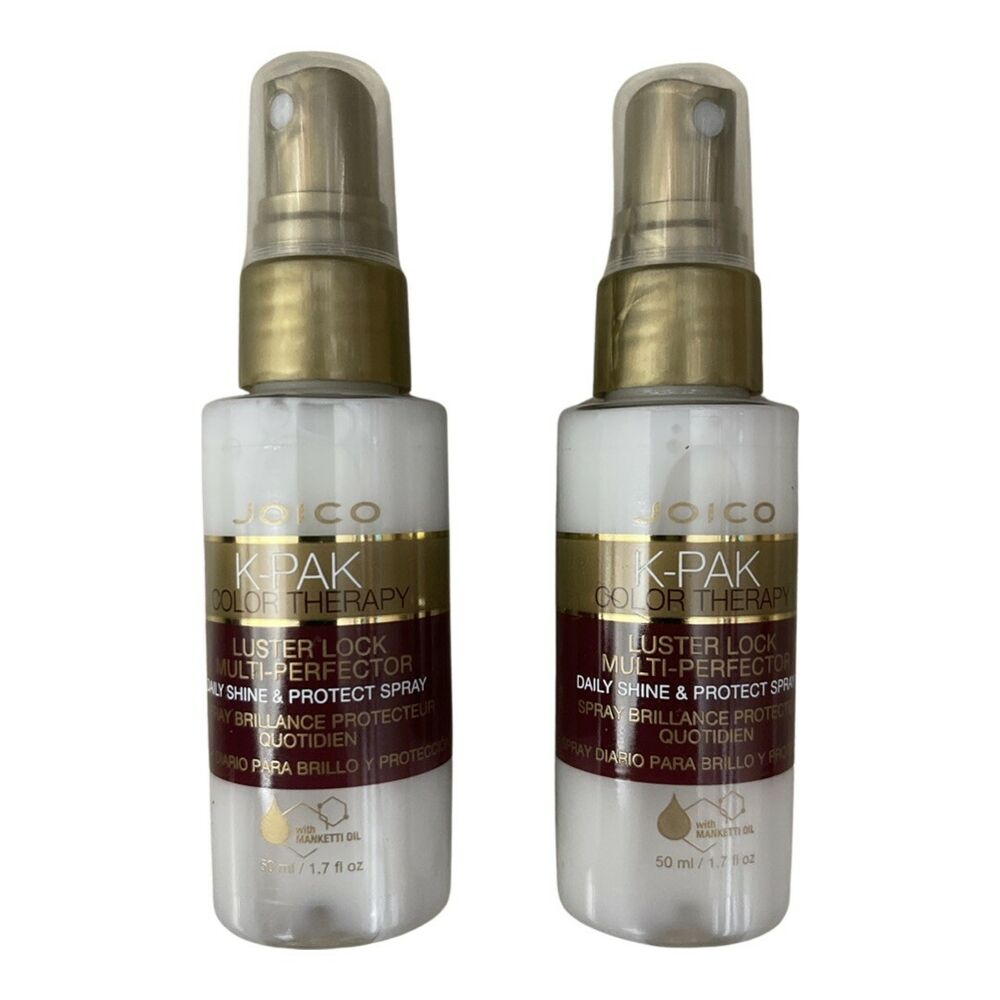 65f991ef25c Details about JOICO KPAK Color Therapy LusterLock Treatment & Multi Perfector  Spray 1.7 oz Duo