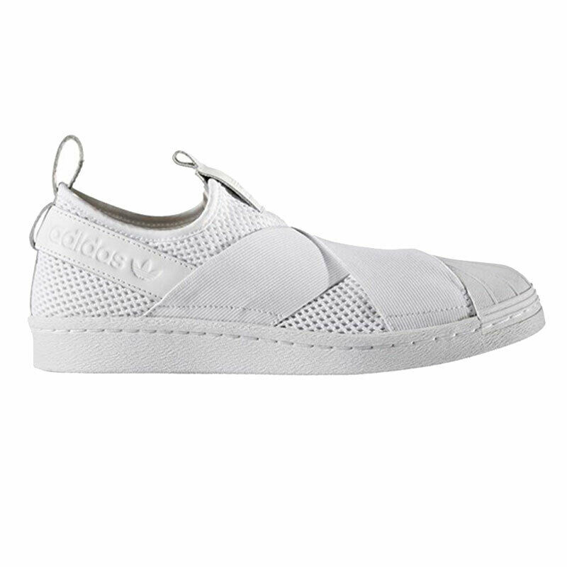 adidas superstar slip on bianche