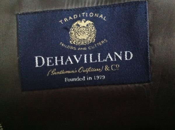Dehavilland wool/silk blend jacket