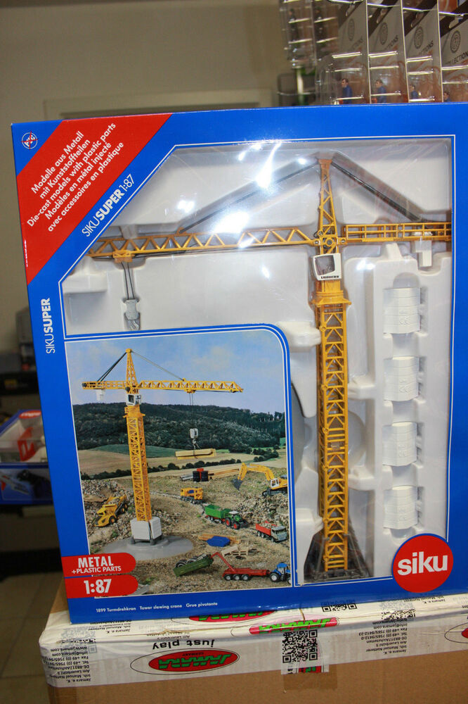 Tower Crane Counter Weights Set #3-1:87 Scale Buildings & Set Parts