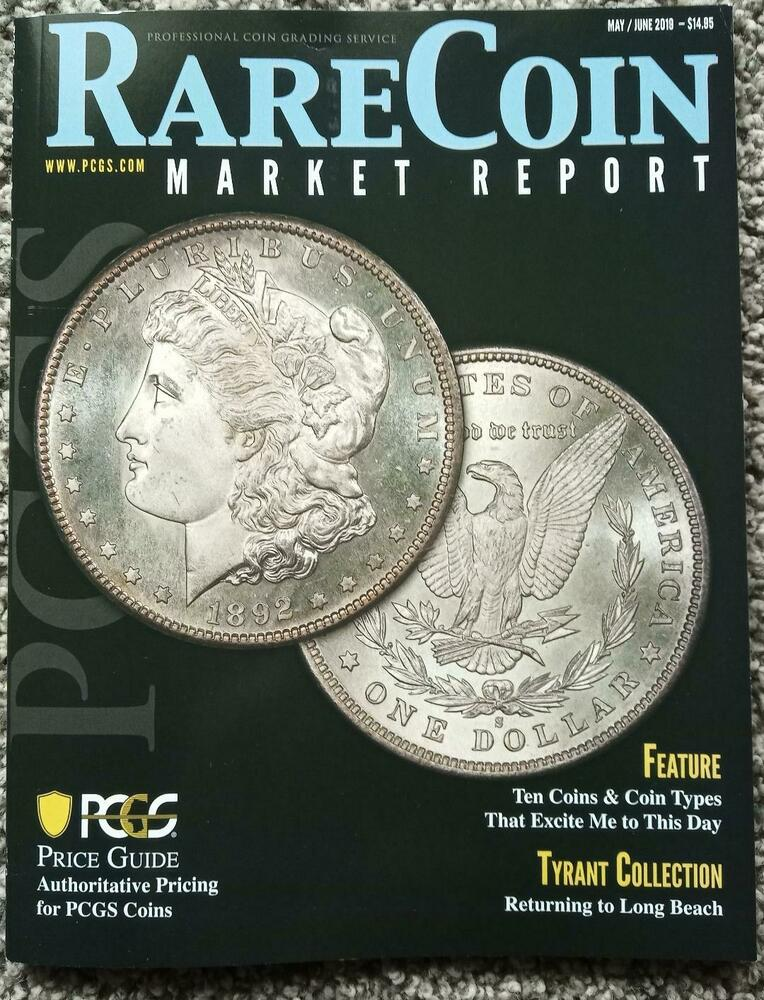 PCGS Rare Coin Market Report Magazine May June 2019 Price Guide Markets  Glossy * | eBay