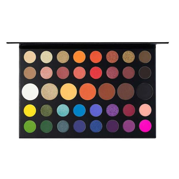 Morphe X James Charles Inner Artist 39 Pressed Eye Shadow Palette Make-Up fr lq.