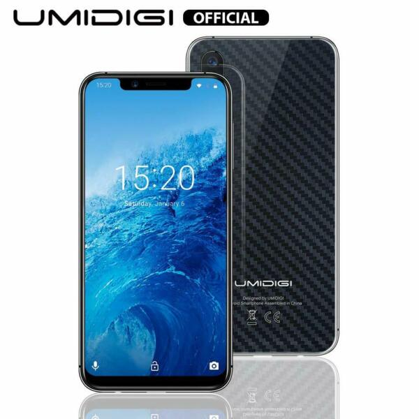 Umidigi One Smartphone Dual 4G Android 8.1 Cellulare Octa Core 4GB+32GB Carbon
