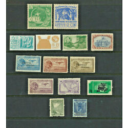 Kyпить Mexico Mint Never Hinged  Mini Collection of 14 Different Vintage Mexican Stamps на еВаy.соm