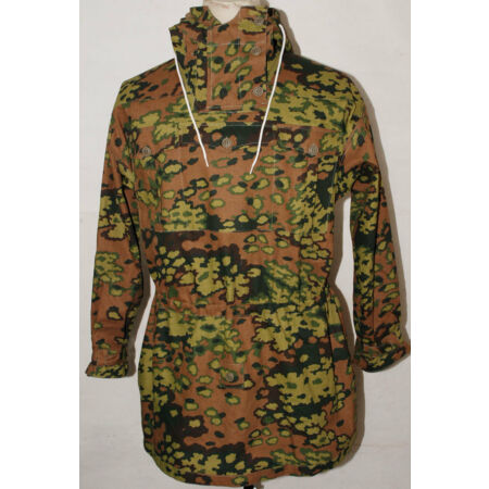 img-WWII GERMAN SPRING AND AUTUMN OAK CAMO REVERSIBLE MOUNTAIN ANORAK SMOCK M-32471