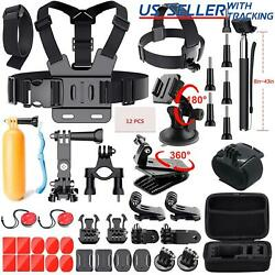 Kyпить 52 PCS Accessories Head Chest Bike Mount Kit for GoPro HERO 5/4/3+ Cameras на еВаy.соm