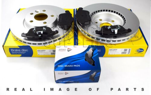 FRONT AXLE BRAKE SET DISCS AND PADS FOR FORD MONDEO COMLINE ADB01591 ADC1249V