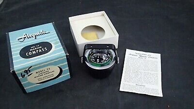 Vintage Airguide No. 74 Marine Compass NOS In Box With Instructions