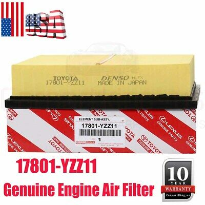 For Toyota Lexus Engine Air Filter 17801-YZZ11 Genuine OEM 17801-0P051 USA