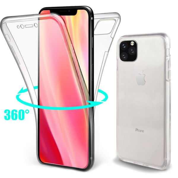 COQUE 360 INTEGRALE POUR IPHONE 11,PRO MAX PROTECTION FULL COVER [Ultra Hybrid]