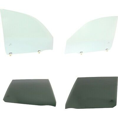 Door Glass For 2001-2005 Toyota RAV4 Tinted Rear Set of 4 Front and Rear