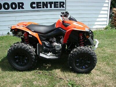 2017 CAN AM RENEGADE 570  NEW 4 X 4 RELISTED BECAUSE OF NONE PAYMENT !!!!!!