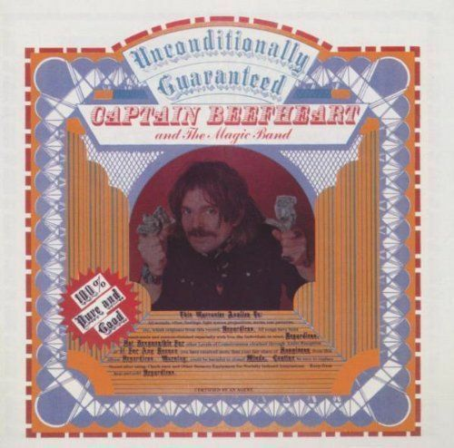 Royaume-UniCaptain Beefheart - Unconditionally  Neue CD