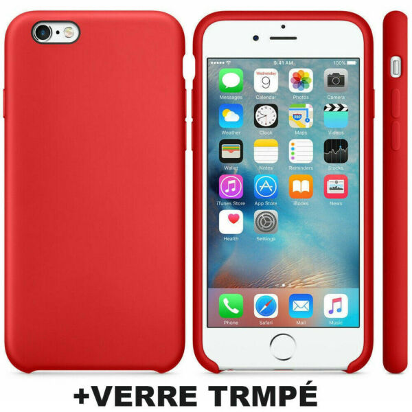 Officiel Coque pour iPhone XS Max X XR 8 7 6S 6 Plus 11 Pro + Film Verre Trempé