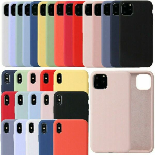 Coque Pour iPhone 11 / 11 Pro Max Slim Protector Shockproof Soft Cover Housse