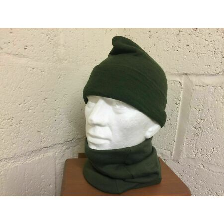 img-GENUINE BRITISH ARMY HEADOVER SNOOD SCARF MILITARY ROYAL MARINES OLIVE GREEN