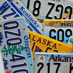 Kyпить License Plate - ALL 50 STATES + Territories Countries Good License Plates Lot на еВаy.соm