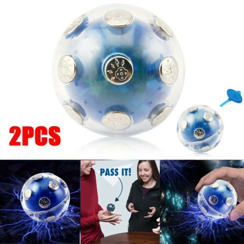 2PC Shocking Ball Electro Shock Ball Party Entertainment Toy Gift For Security