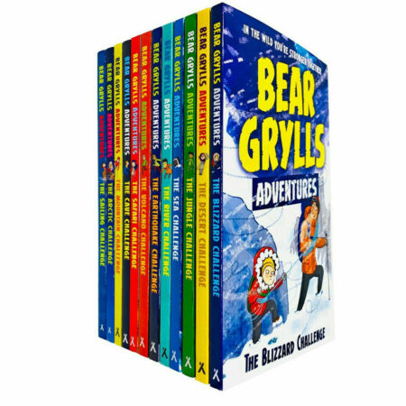 img-Bear Grylls Complete Adventure Series 12 Books Collection Set Sailing Challenge