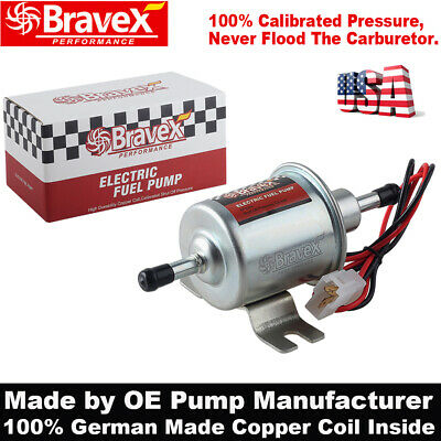 Electric Fuel Pump Universal 2.5-4 PSI Inline Low Pressure Gas Diesel 12V Cars