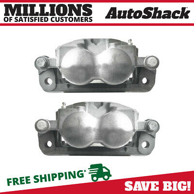 Front Brake Caliper Pair for 2005-2010 2011 2012 Ford F-350 F-250 Super Duty
