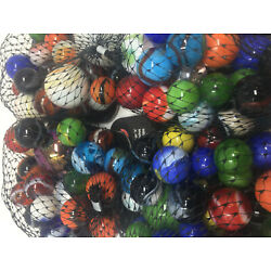 Kyпить  Mega Marbles Half Pound Rounds | Assorted Net of Glass Marbles  на еВаy.соm