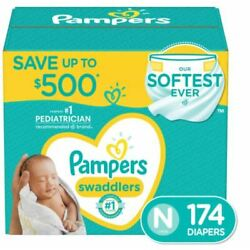 Kyпить Pampers Swaddlers Diapers Sizes (N,1,2,3,4,5,6) на еВаy.соm
