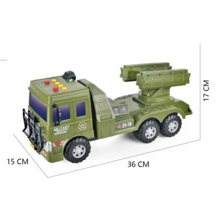 img-Kids Army truck with sound and lights, Back to school Xmas Gift New