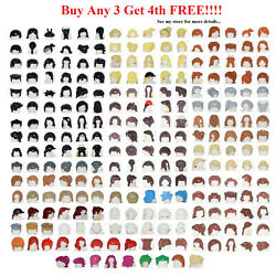 Kyпить ☀️NEW Lego PICK YOUR HAIR Female Male Boy Girl Minifigure minifig Beard Parts  на еВаy.соm