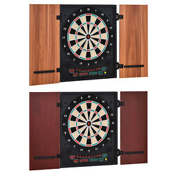 Kyпить Electronic Dartboard 27 Games&202 Variations w/ 2 Dart and Cabinet to Stroage на еВаy.соm