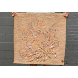Kyпить Authentic Rare Don Freedman Tree Time Interlude Textile Fiber Wall Hanging на еВаy.соm