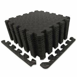 Kyпить 9HORN Exercise Mat/Protective Flooring Mats with EVA Foam Interlocking Tiles and на еВаy.соm