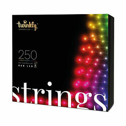 Kyпить Twinkly 250 LED RGB Multicolor 65.5 ft Decorative String Lights, Bluetooth WiFi на еВаy.соm