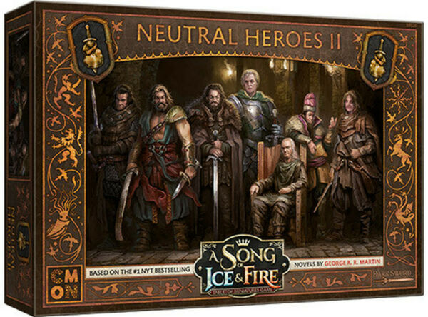 A Song Of Ice and Fire Expansion - Neutral Heroes Box 2