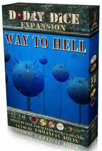 D-Day Dice 2nd Edition Way to Hell Expansion