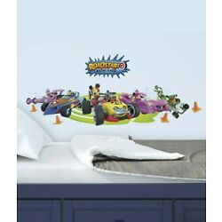Mickey and the Roadster Racers RoomMates Vinyl Wall Bedroom Decals Stickers 3