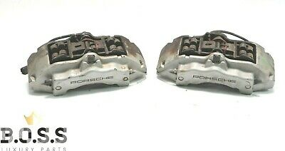 03-06 Porsche Cayenne S 955 Brembo Front Left & Right Side Brake Calipers Set