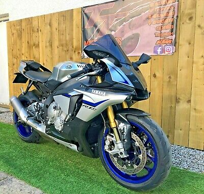 YAMAHA R1M - LOW MILES - SILVER CARBON - STUNNER - 2015 - FINANCE AVAILABLE