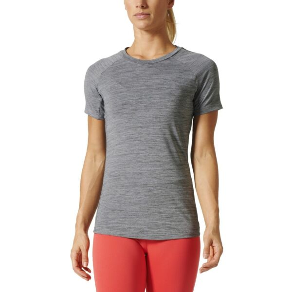 AllemagneAdidas Performance Femmes Sport Shirt Performance Freelift  Gris Moucheté