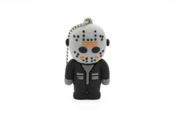 CHIAVETTA PEN DRIVE USB 2.0 16 GB FLASH DRIVE A FORMA DI JASON NUOVA