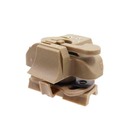 img-EMERSON Airsoft Fast Helmet Mount for HL-1 Dark Earth EM8850A Softair bb's