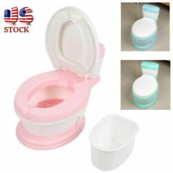 Kyпить Child Baby Toddler Potty Training Toilet Seat Stool Simulation Toilet Chair на еВаy.соm