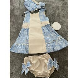 3 Piece Dolce Petit Spanish, Traditional Style Outfit 24 Months Brand New