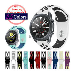 Replacement Watch Band For Samsung Galaxy Watch 3 45mm 41mm Silicone Sport Strap