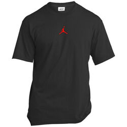 Kyпить Red Jumpman Small Logo Men's T-Shirt на еВаy.соm