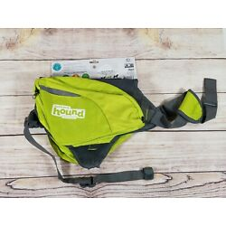 Daypak Dog Backpack Hiking Gear For Dogs by Outward Hound - Color: Green Size L